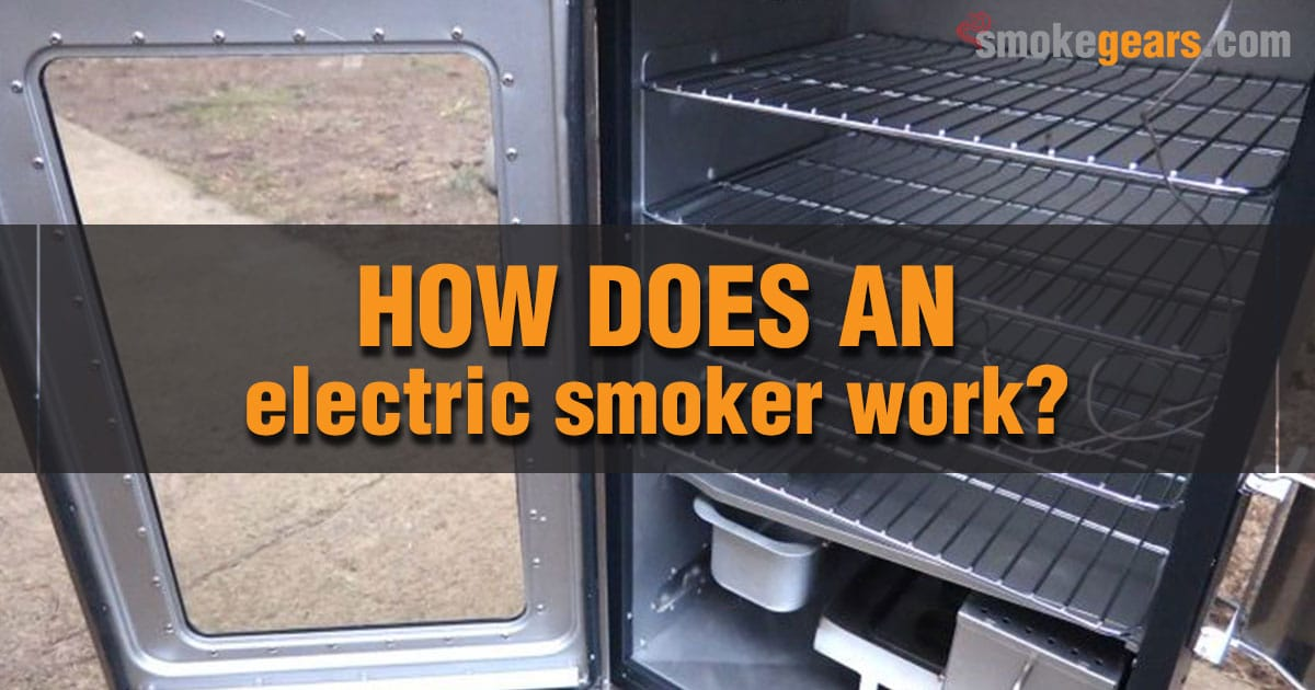 How does an electric smoker work?