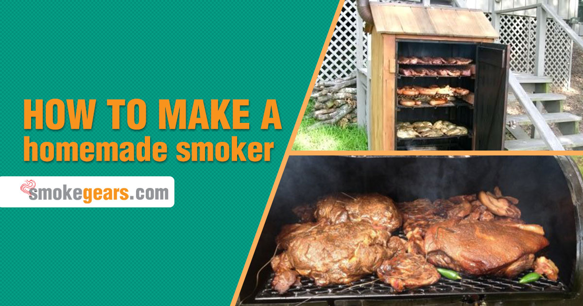 How to make a homemade smoker