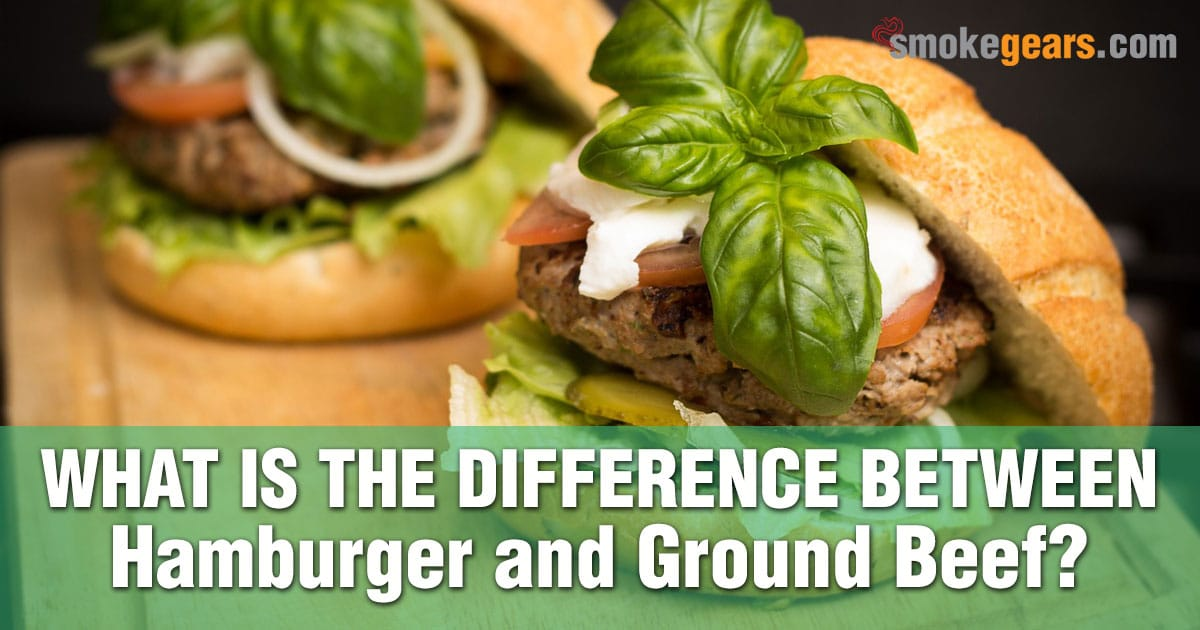 What is the difference between hamburger and ground beef?