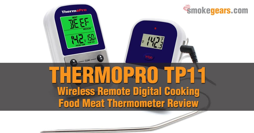 ThermoPro TP11 Wireless Remote Digital Cooking Food Meat Thermometer