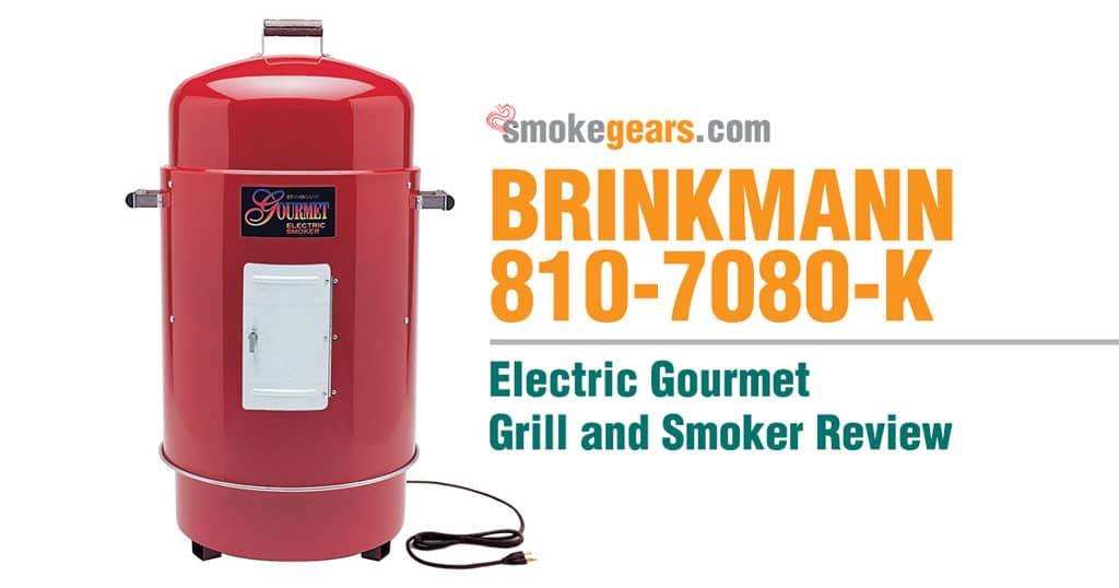 Brinkmann 810-7080-K Gourmet Electric Grill and Smoker Review