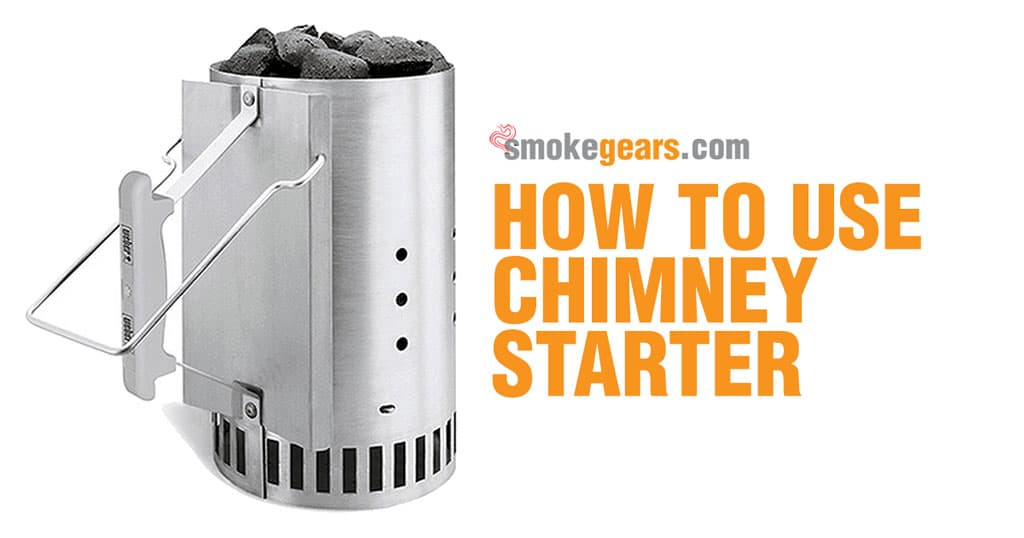 Bbq Starter Weber.How To Use Chimney Starter Lighting Charcoal Smokers
