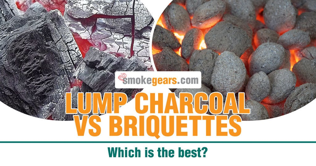 Lump charcoal vs Briquettes: Which is the best lump charcoal