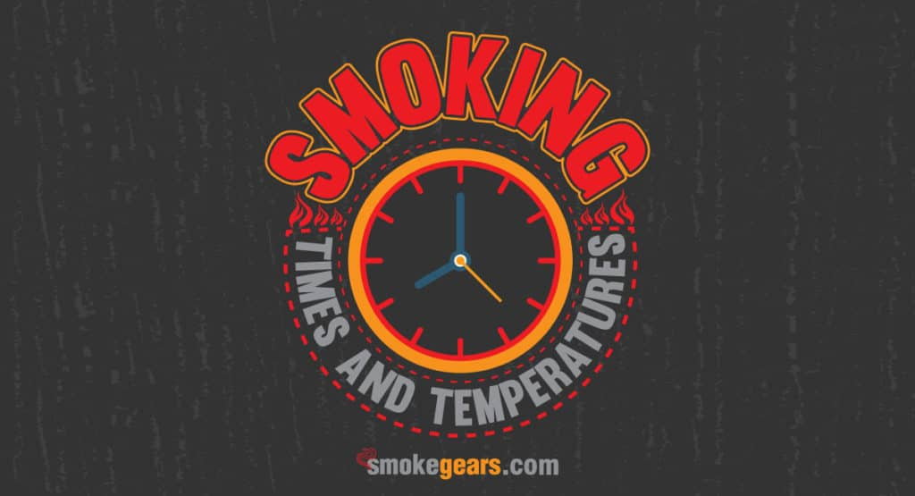 Smoking Times and Temperatures Chart Banner Image