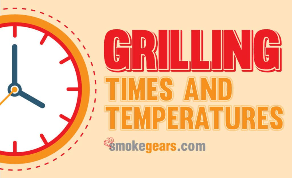 grilling time and temperature chart