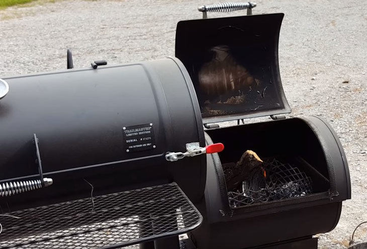 Fuel up the smoker