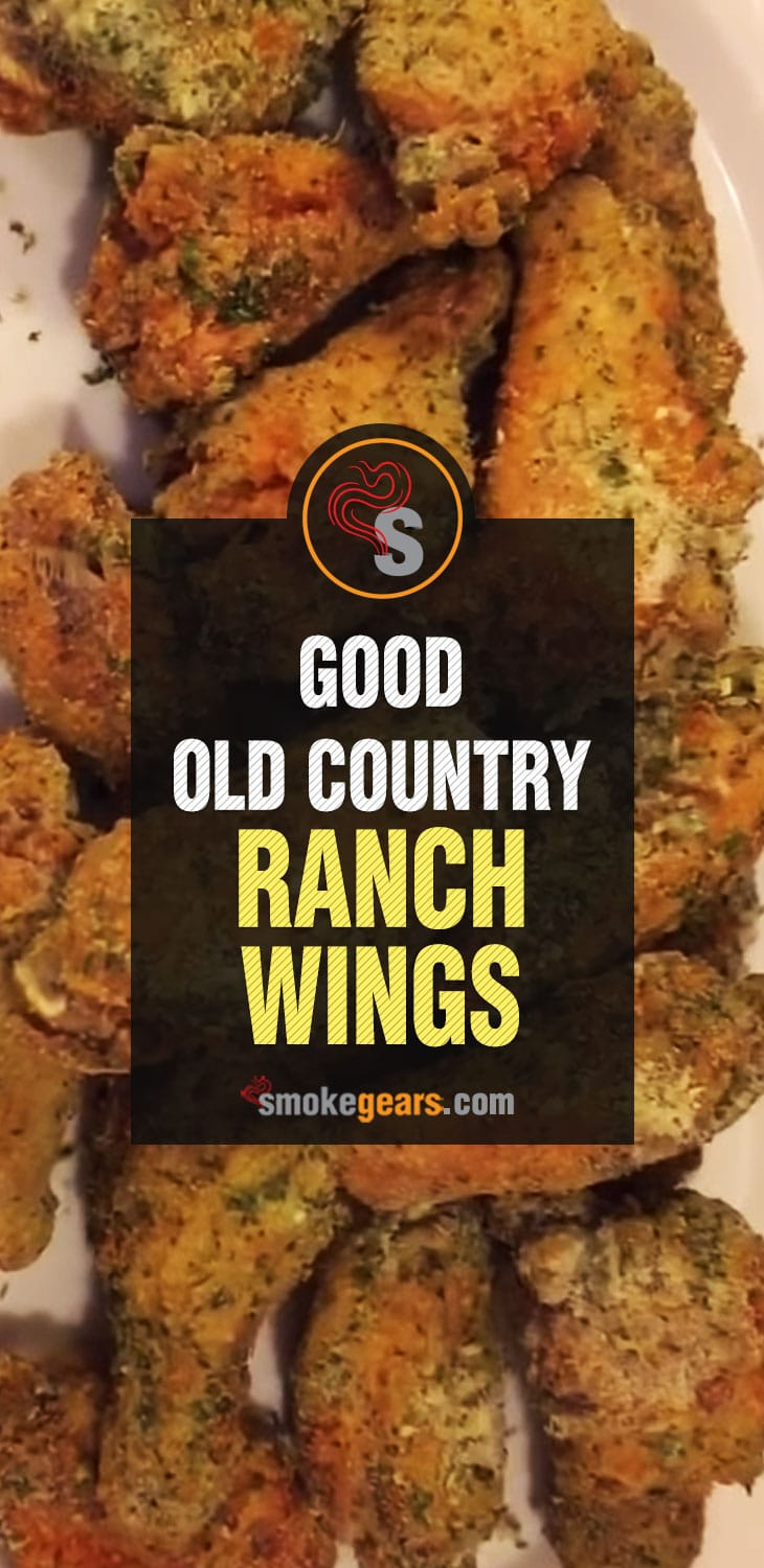 Good Old Country Ranch Wings