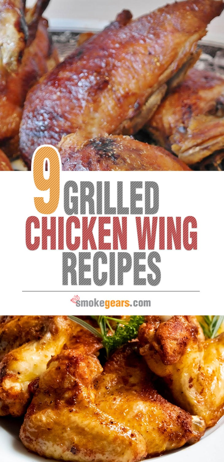 9 Grilled Chicken Wing Recipes