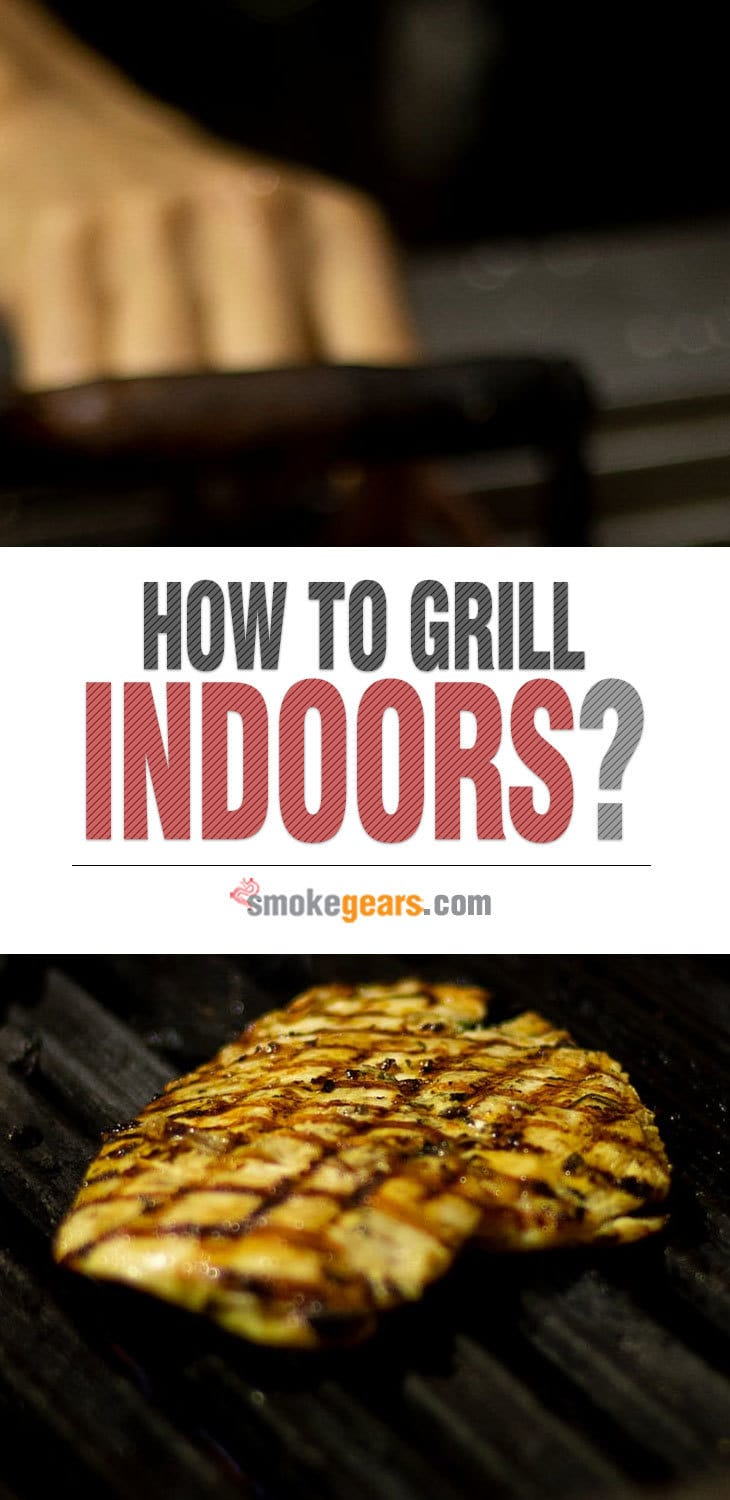 Indoor charcoal grilling