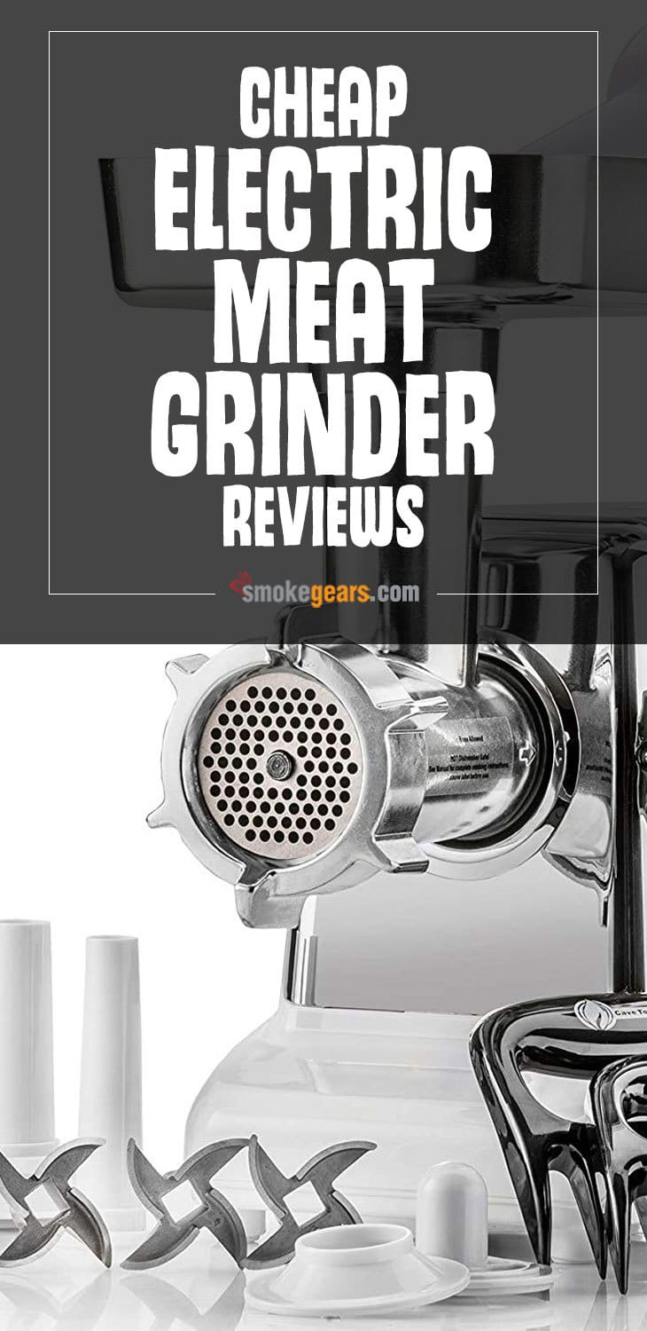 Cheap electric meat grinder