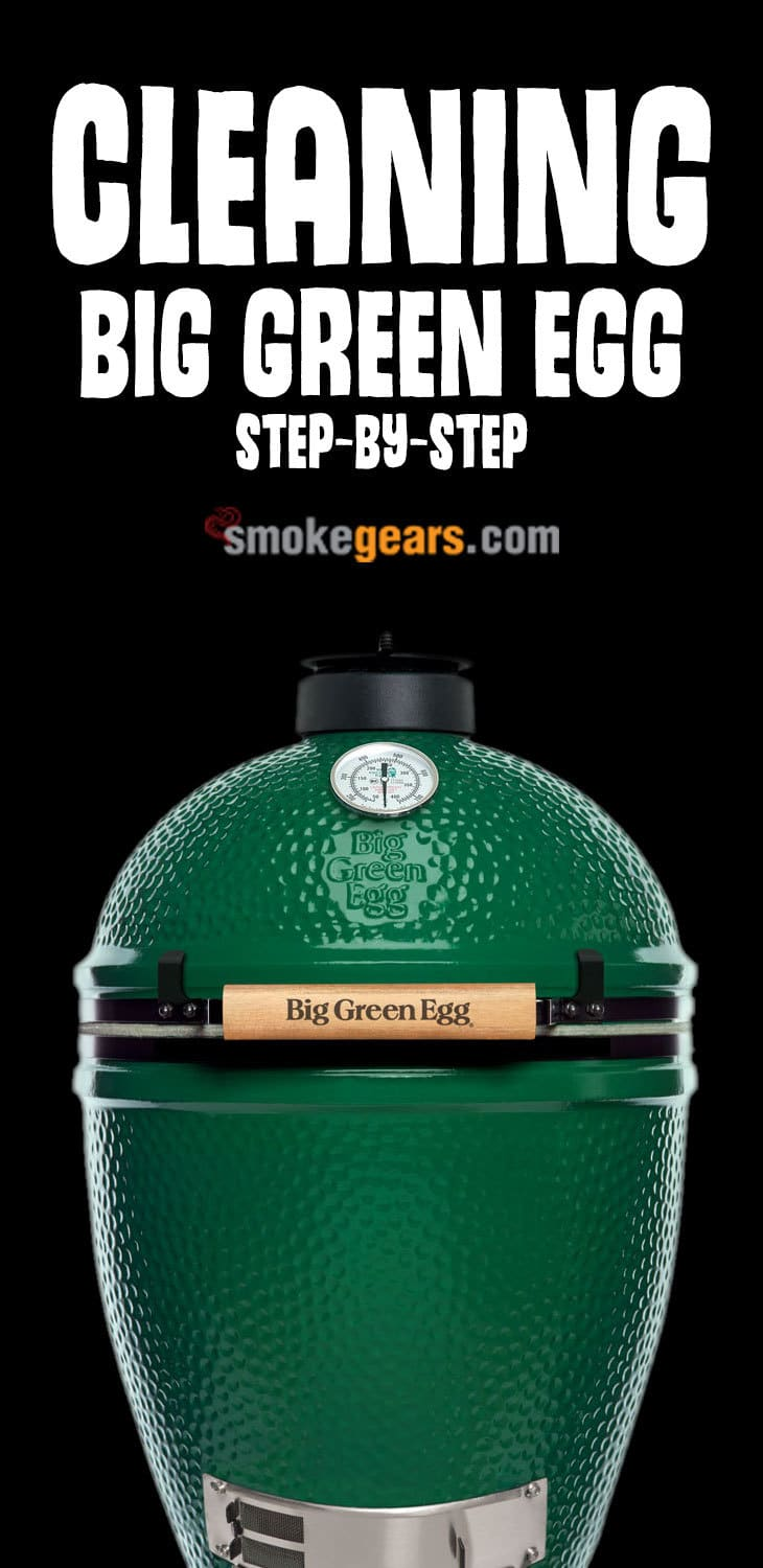 Cleaning Big Green Egg