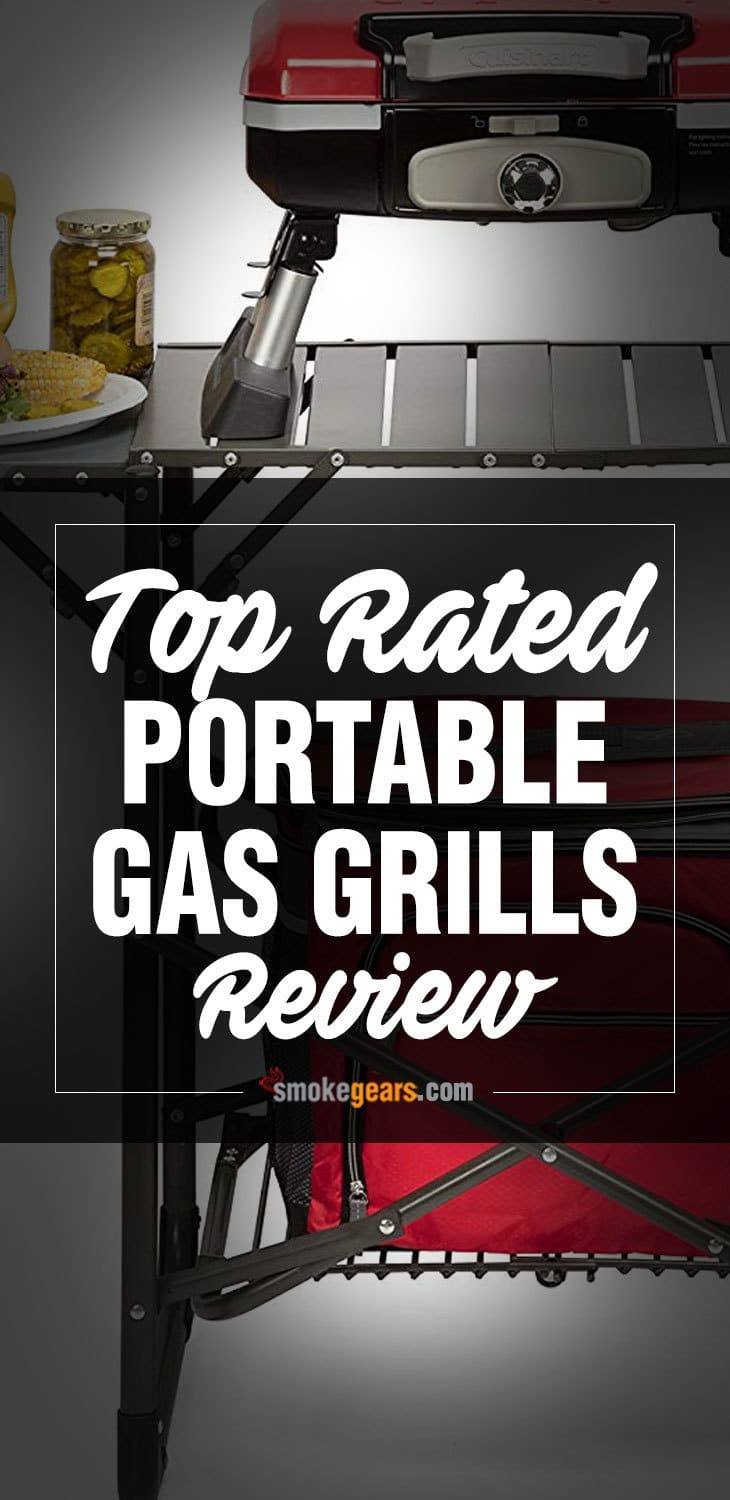top rated portable gas grills