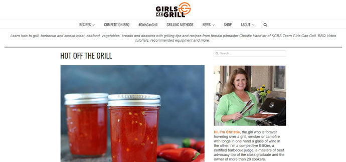 Girls Can Grill