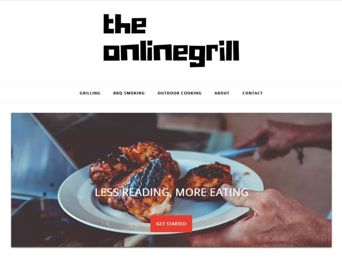 The Online Grill