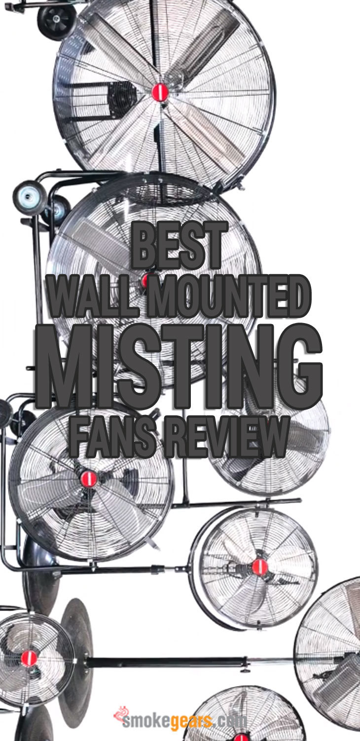 Best Wall Mounted Misting Fans
