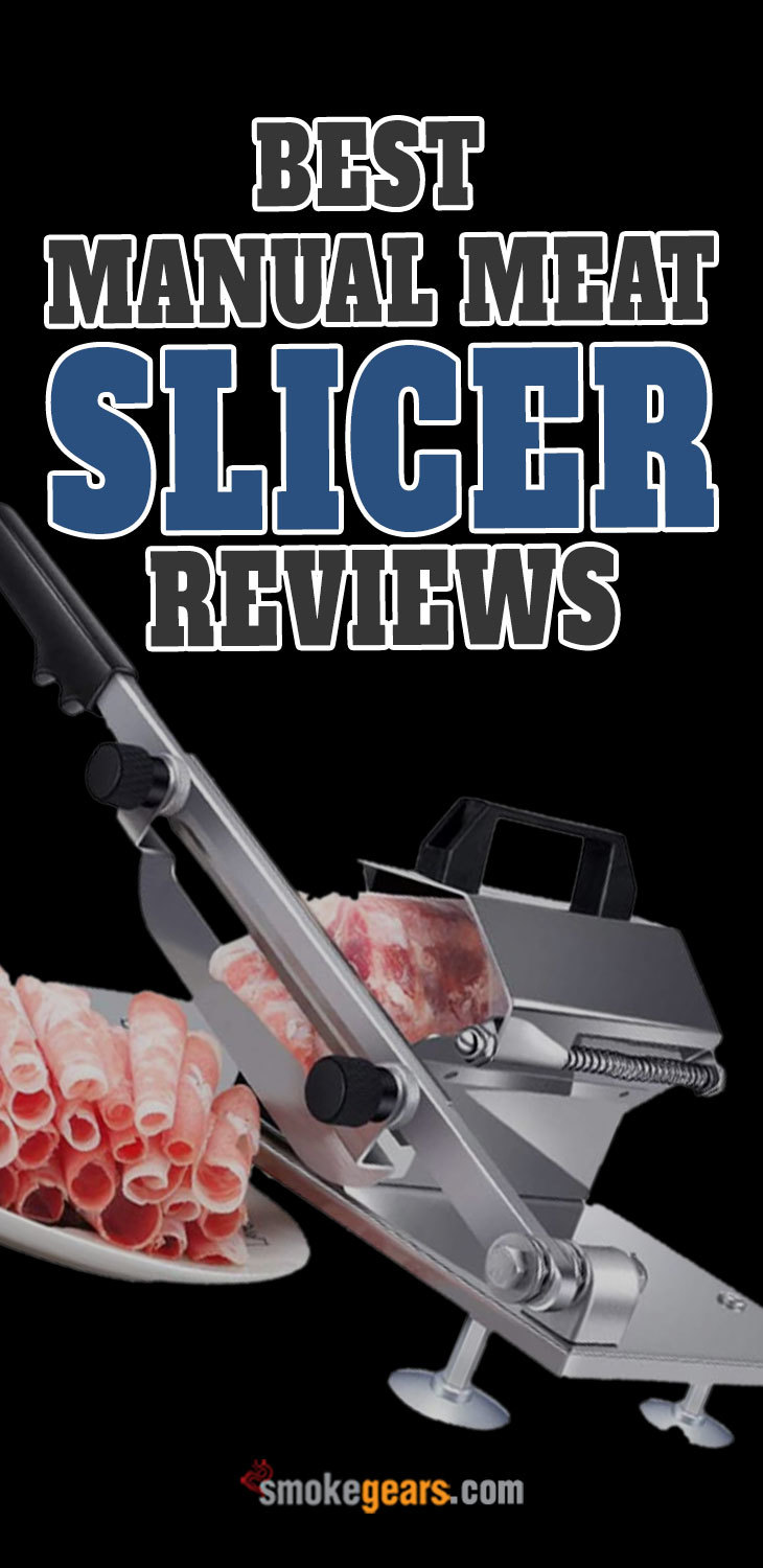 best manual meat slicer reviews