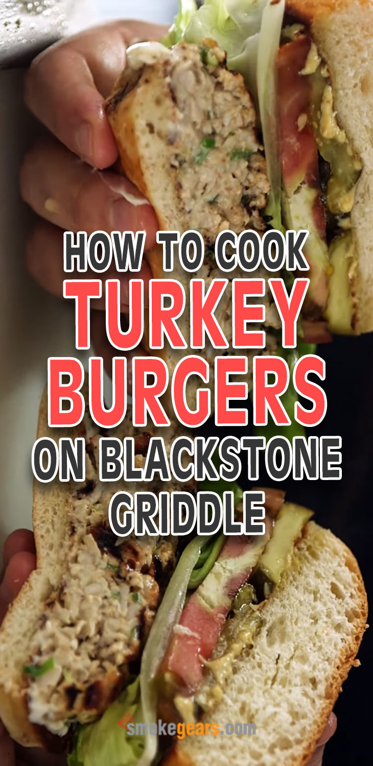 How to cook turkey burgers on Blackstone griddle?