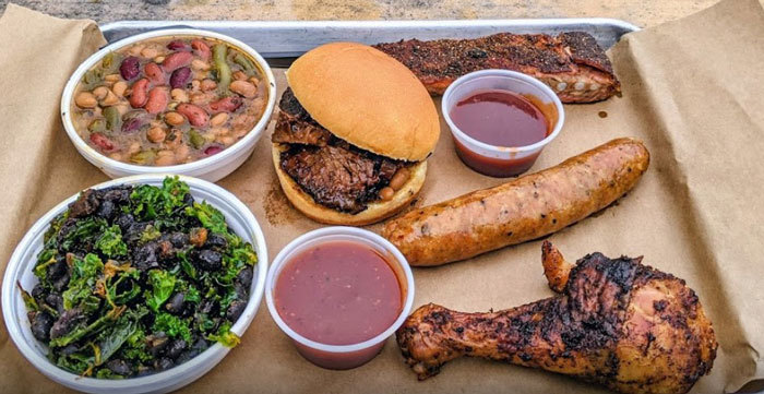 Saucy's Walk-up Bar-B-Q in Petersburg and Hopewell