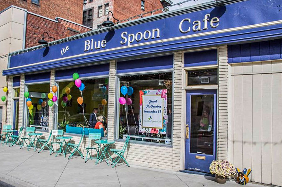 The Blue Spoon Cafe, Bluefield